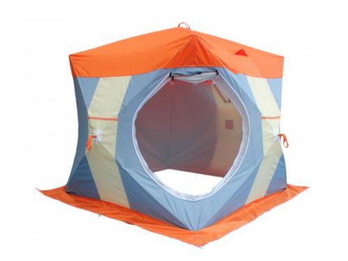 Зимняя палатка Нельма-2 Люкс куб — обзор