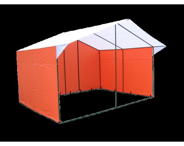 Торговая палатка «Домик» 4 х 3 из квадратной трубы 20х20 мм