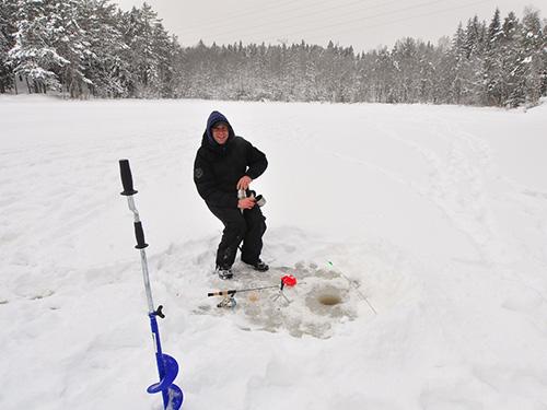Зимняя ловля леща и плотвы