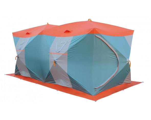 Нельма Куб-4 Люкс Профи палатка для зимней рыбалки с внутренним тентом3