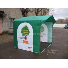Палатка для мероприятия Сохрани дерево