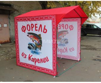 Торговая палатка  Форель из Карелии