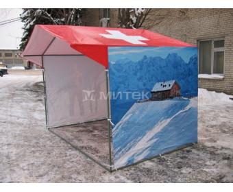 Палатка уличная торговая с нанесением изображения