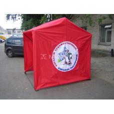 Палатка Кабриолет с логотипом Когалым