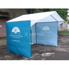 Палатка 3х2 м с фирменным логотипом МДК