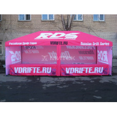 Шатер для спортивных судейских бригад, бренд RDS