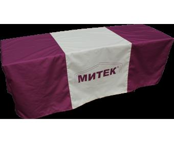 Скатерть с логотипом Митек