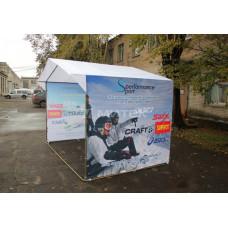 Палатка спортивного магазина