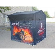 Палатка для презентации World of tanks