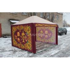 Палатка для торговли выпечкой