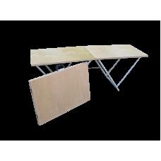 Торговый стол складной 1,8*0,6 (6мм, усиленный)