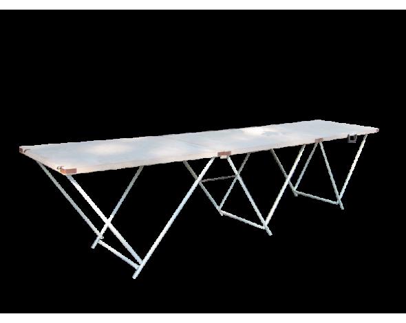 Торговый стол складной 2,7*0,6