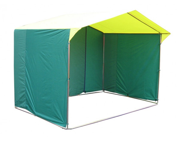 Торговая палатка «Домик» 2 x 2 из трубы Ø 25мм тент ПВХ