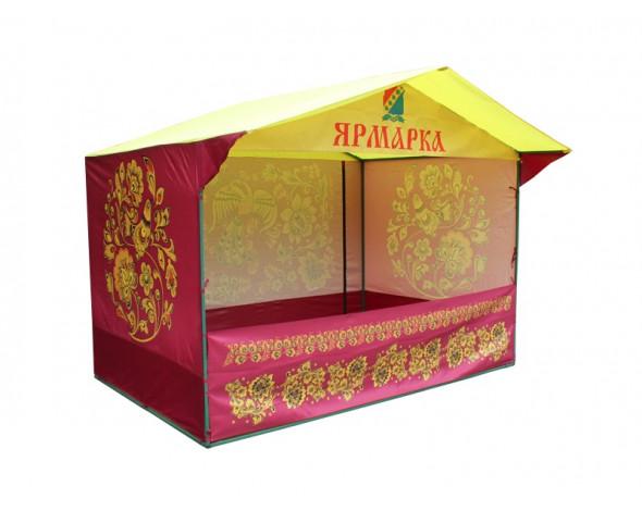 Торговая палатка с логотипом, «Домик» 3 x 2 из квадратной трубы 20х20 мм