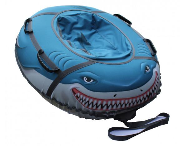 Тюбинг «Акула» овал 125х110 см.