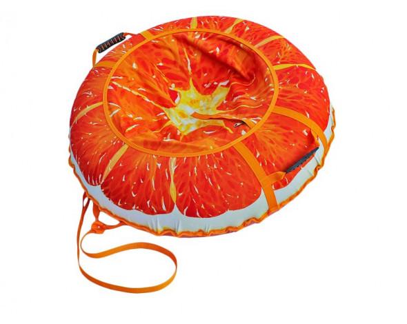 Тюбинг «Сочный апельсин»  110 см.