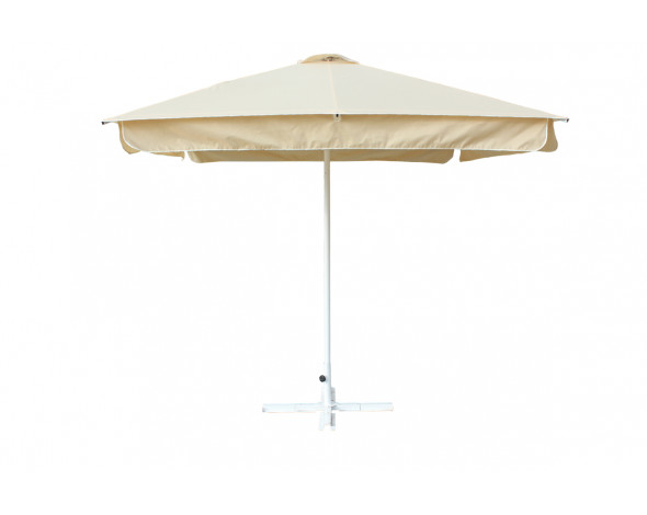 Зонт 2.5м х 2.5м.(8) Ал с пр. воланом