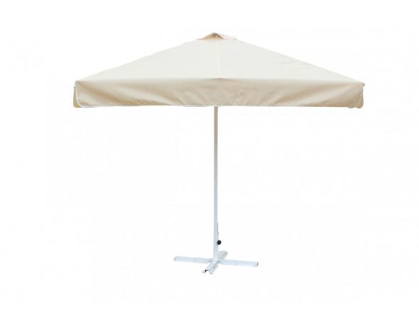 Зонт 2.5м х 2.5м.(8) Цинк  с воланом