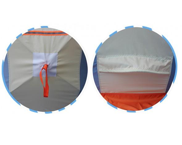 Зимняя палатка Нельма куб 2 люкс-2