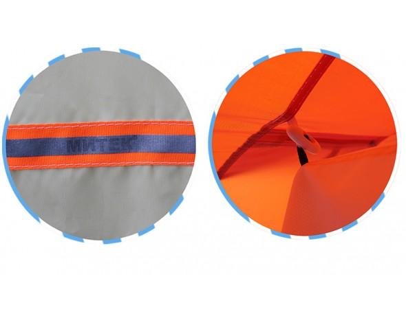 Зимняя палатка Нельма куб 2 люкс-4