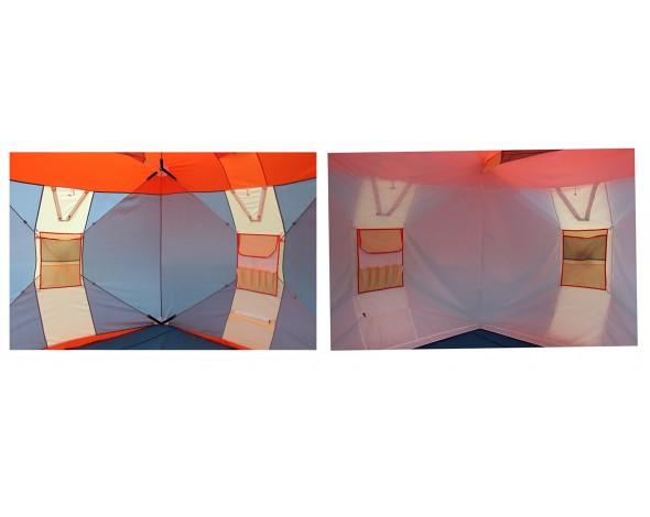 Зимняя палатка Нельма куб 2 люкс-5