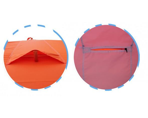 Зимняя палатка Нельма куб 2 люкс-6
