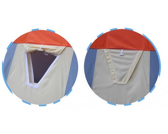 Зимняя палатка Нельма куб 2 люкс-7