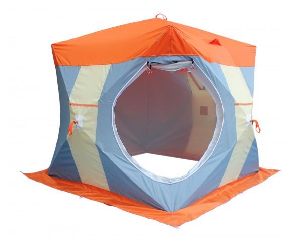 Зимняя палатка Нельма куб 2 люкс-1